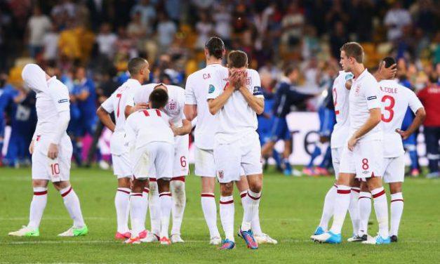 England's Euro Exit