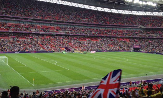 British Ladies fly the flag