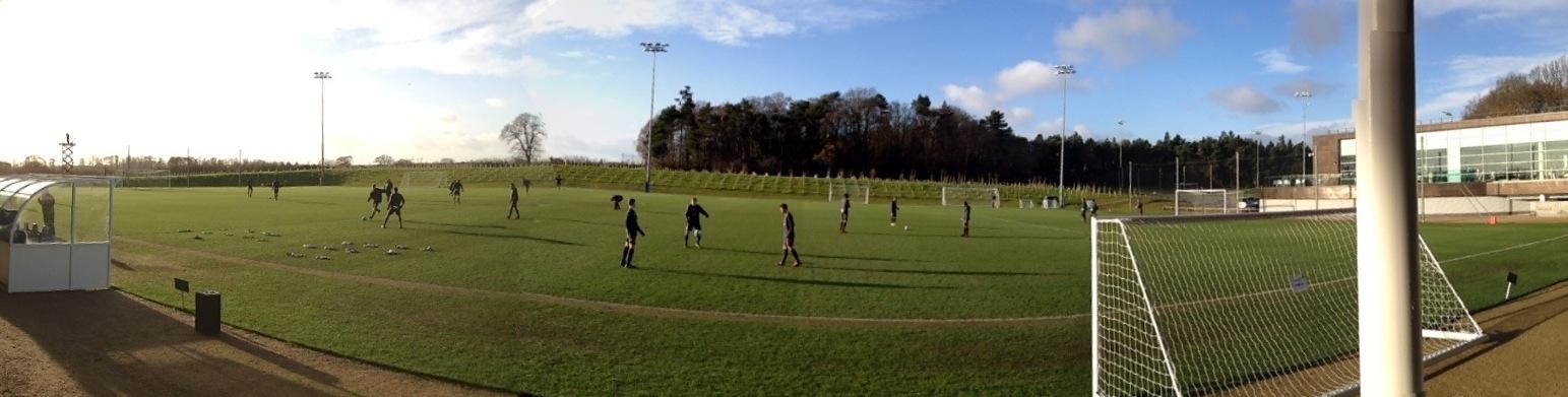 Umbro Pitch, St George's Park