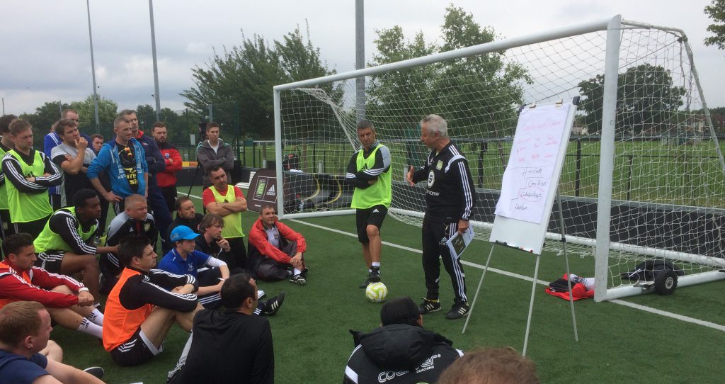 Alf Galustian Coerver Youth Diploma 2