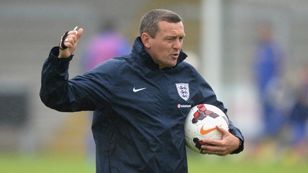 Aidy Boothroyd England u20 Coach