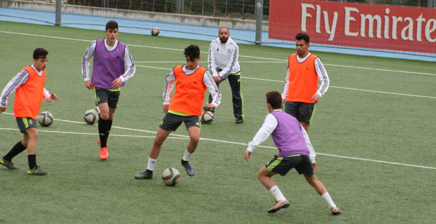 Real Madrid u-17s Training