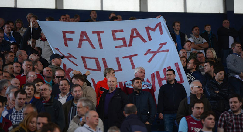 Fat Sam Out - Sam Allardyce at West Ham United FC