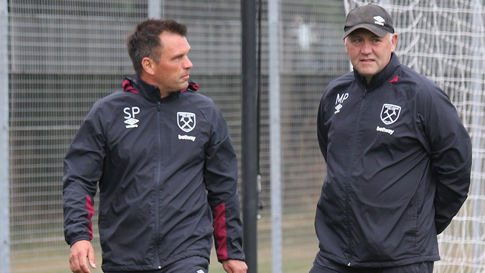 Mark Phillips & Steve Potts, West Ham u18s
